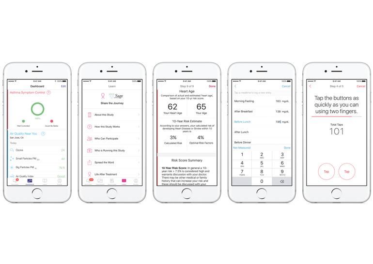 В платформу ResearchKit добавлена возможность проведения новых медицинских исследований