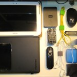 The Typical IT Consultant Bag Contents