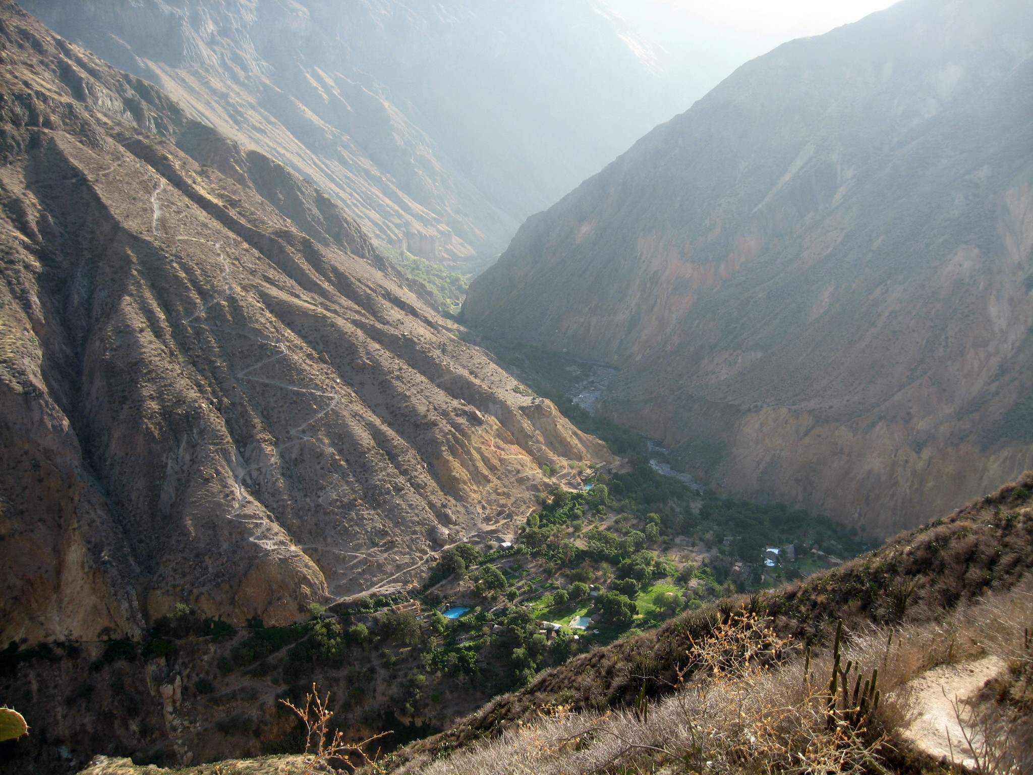 Colca Canyon Peru Itchy Feet On The Cheap