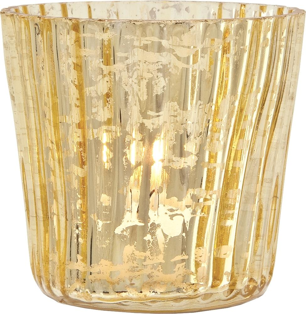 Fullsize Of Mercury Glass Candle Holders