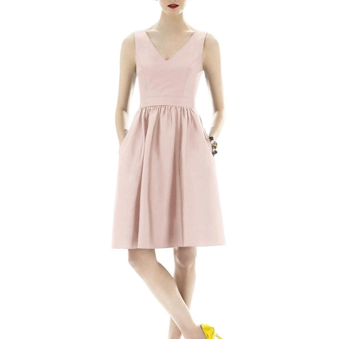 Beautiful My Skin Tone What Color Blush Is Alfred Sung Pearl Pink Light Pink Blush Color Silk Dupioni D638 Feminine Bridesmaidmob Dress Size 4 23230103 0 0 What Color Blush Is Medium Skin Tones photos What Color Is Blush