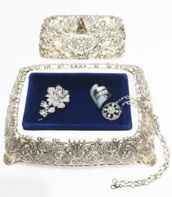 Small Of Vintage Jewelry Box