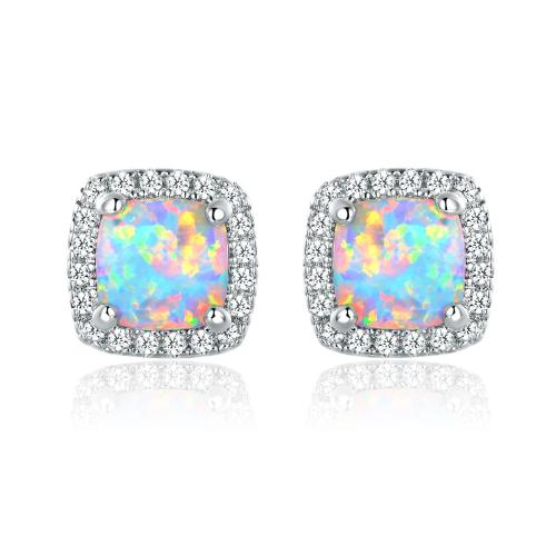 Medium Crop Of Opal Stud Earrings