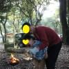 キャンプでバウムクーヘンをぐるぐる作ってみた♪