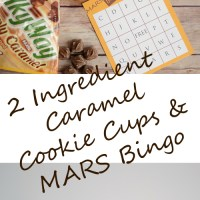 2 Ingredient Caramel Cookie Cups and MARS Bites Bingo #EatMoreBites #shop