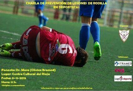 Conferencia Dr. Mora - Escuela de Fútbol LOGROÑO 2015