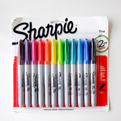 Sharpie-Fine-Point-Permanent-Markers-12pc