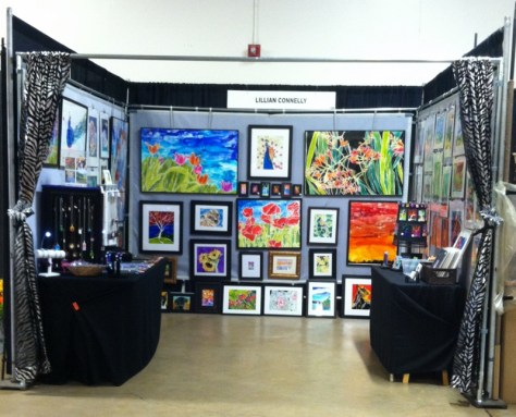 Booth at the 2015 New Mexico Arts and Crafts Fair