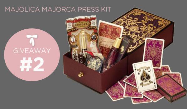 Majolica Majorca Giveaway #2