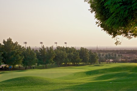 Golf Oasis in a Post-apocaplytic Landscape