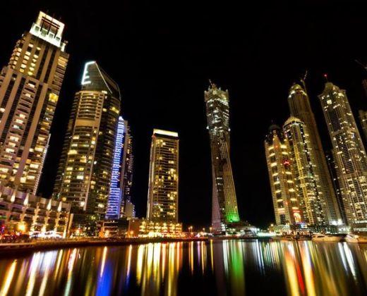 Dubai-Marina-night-view