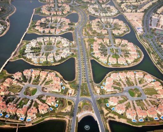 Palm-Jumeirah-Islands in Dubai