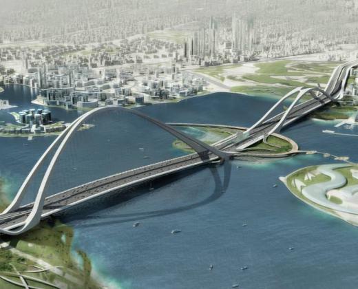 sheikh-Rashid bin Saeed Crossing Project in Dubai