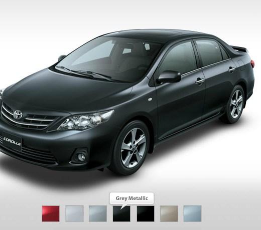 Latest-Toyota-Corolla-2013-XLI-GLI-Mid-Range-Grey-Metallic-Colors