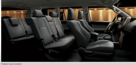 Latest-Toyota-Land-Cruiser-Prado-2013-car-model-interior-gray-color-leather-seats