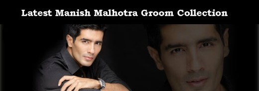 Latest Manish-Malhotra-Groom dress Collection