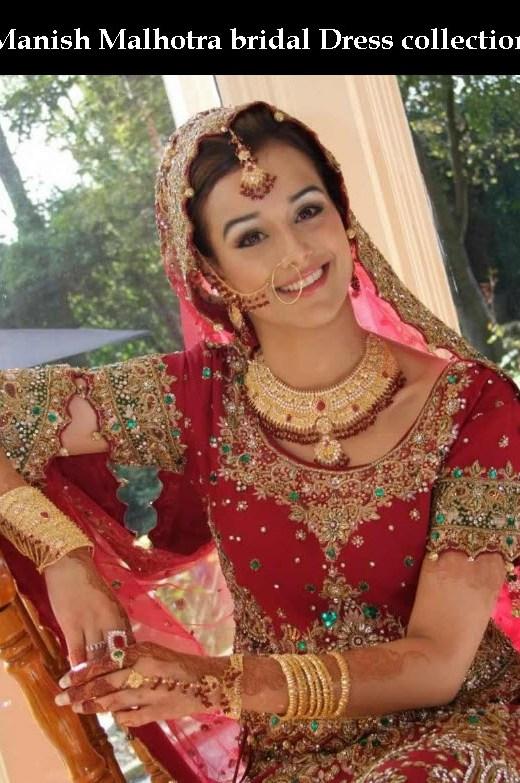 Manish-Malhotra-Bridal Lehenga Collection 2013