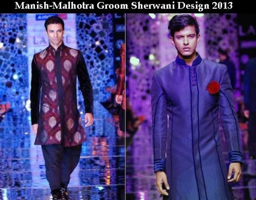 Manish-malhotra sherwani design with price
