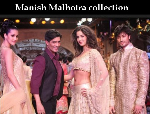 ManishMalhotra bridal and groom dress collection 2013 2014