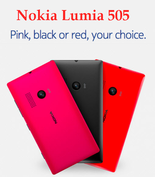 Nokia-Lumia-505 Best Color Nokia Mobile 2013