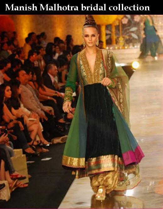 latest Manish-Malhotra-Bridal Dress Collection 2013