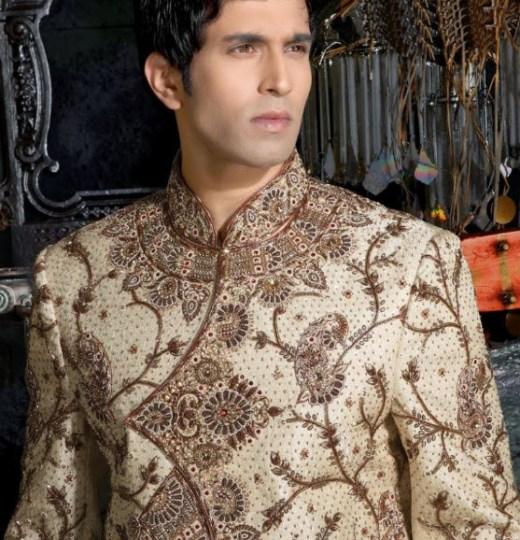 most beautiful groom sherwani design 2013 2014
