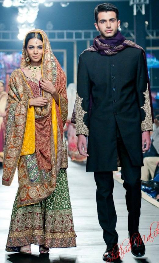 world Most Beautiful Bridal Dress 2013 by HSY pakistan Fashion designer