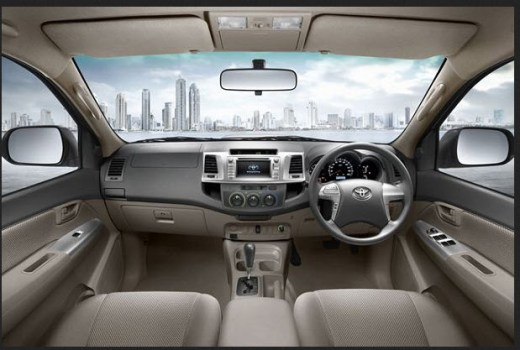 Latest-toyota-fortuner-2013-2014 Dashboard interior picture