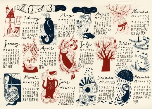 calendar-2013 new wallpaper