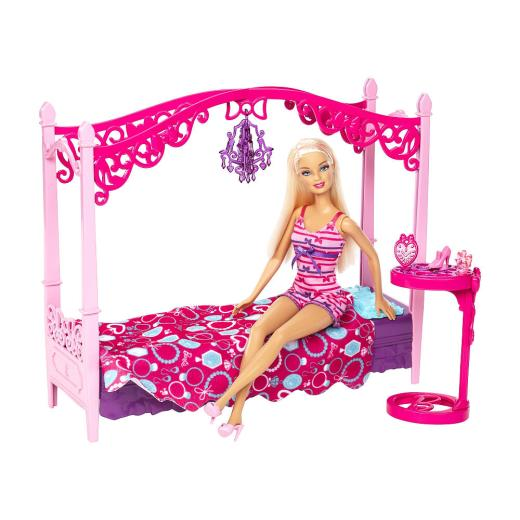 latest-Barbie-Doll-with-Furniture-Bedroom-picture-2013-2014