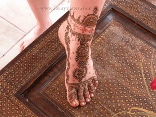 Arabic-Mehndi-Designs-for-dulhan-foot-2015 - 2016