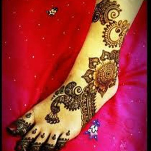 latest-heena-mehndi-styles-for-brides-2015 - 2016