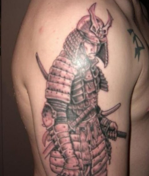 War-Man-Army-tattoo design picture
