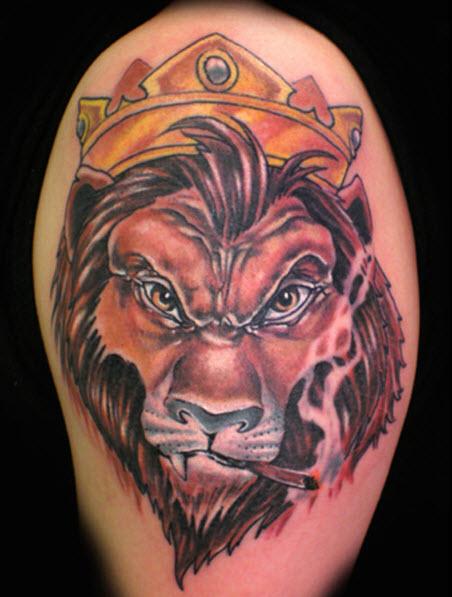 animal-shape tattoo design picture