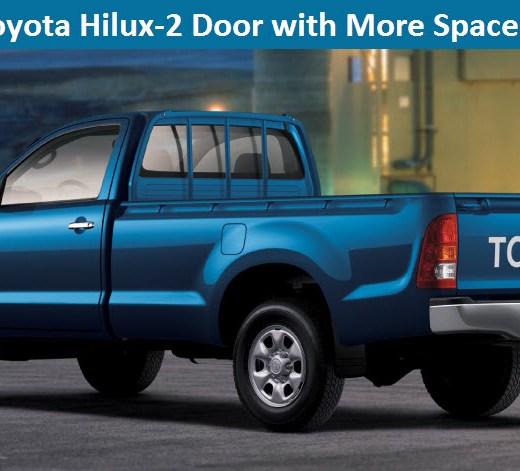2-Door-Latest-Toyota-Hilux-blue-color-picture