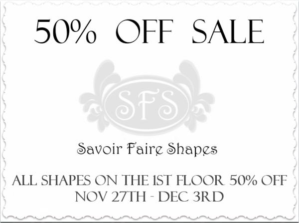 Savoir Faire Shapes Sale