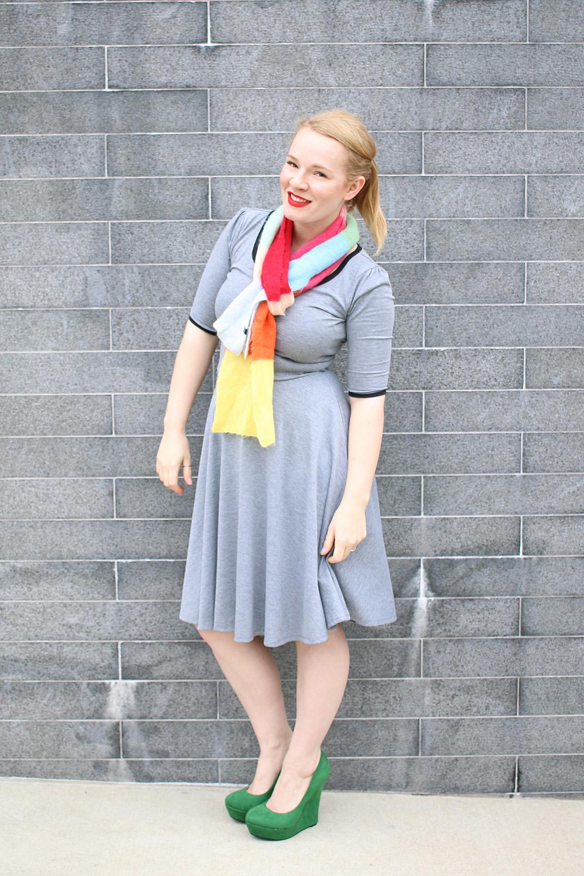 LuLaRoe Nicole Dress Styling