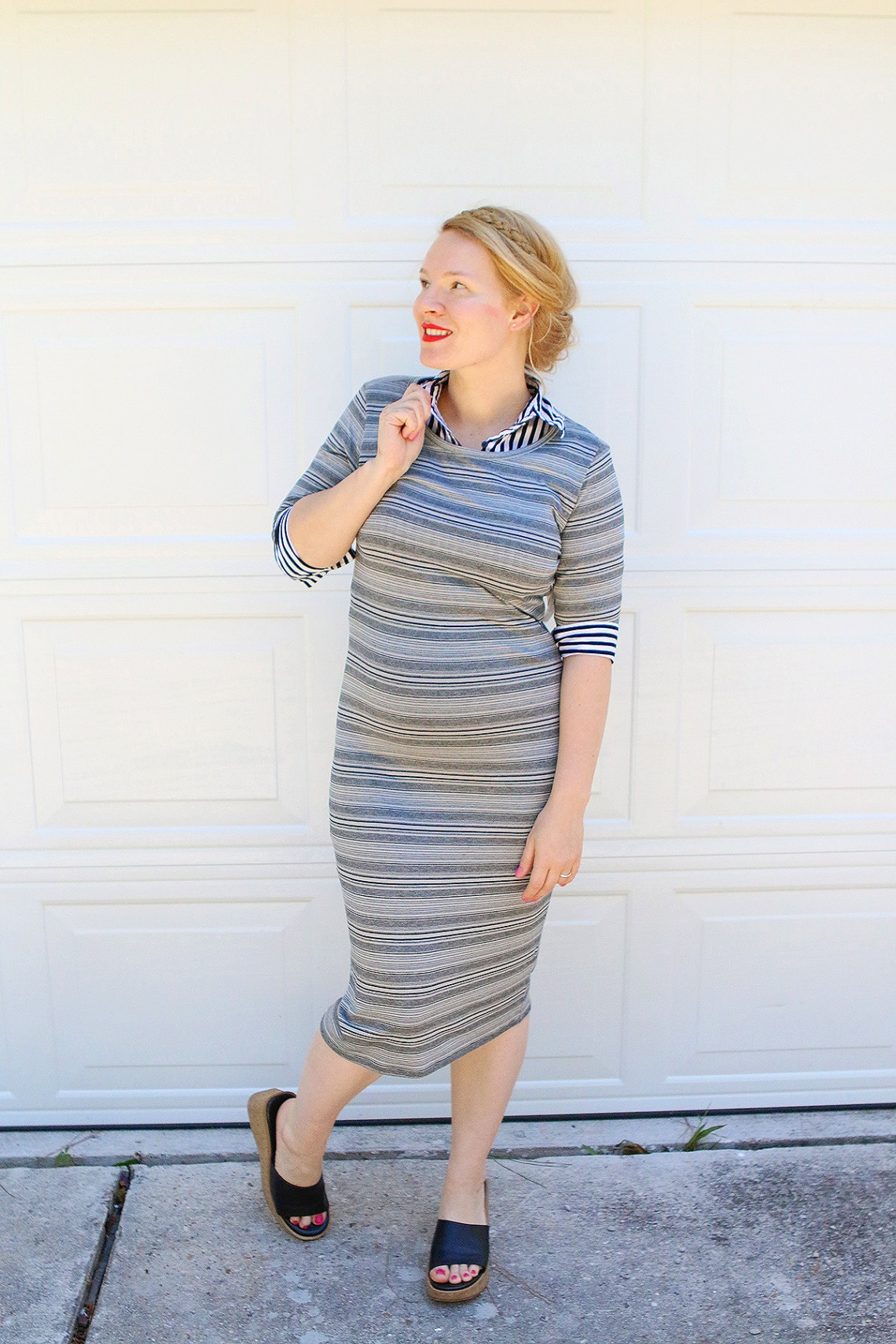 LuLaRoe Julia Dress for work