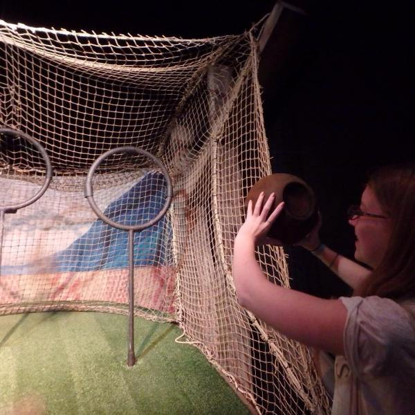 Playing Quidditch HarryPotterExpo brussel quidditch itwasawesome