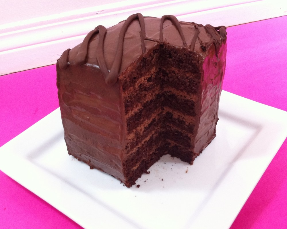 6 Layer Chocolate Cake  (1/5)