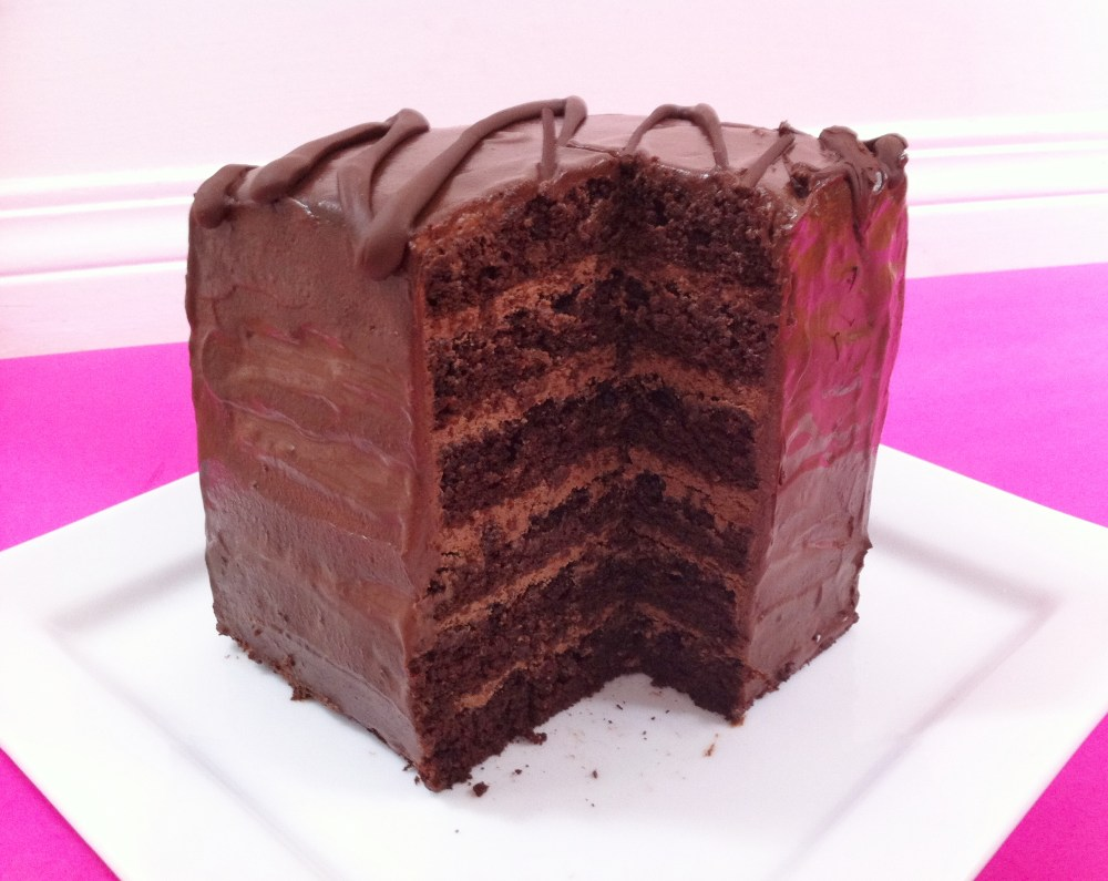 6 Layer Chocolate Cake  (2/5)