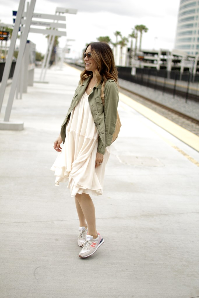 dress and sneakers, itsy bitsy indulgences