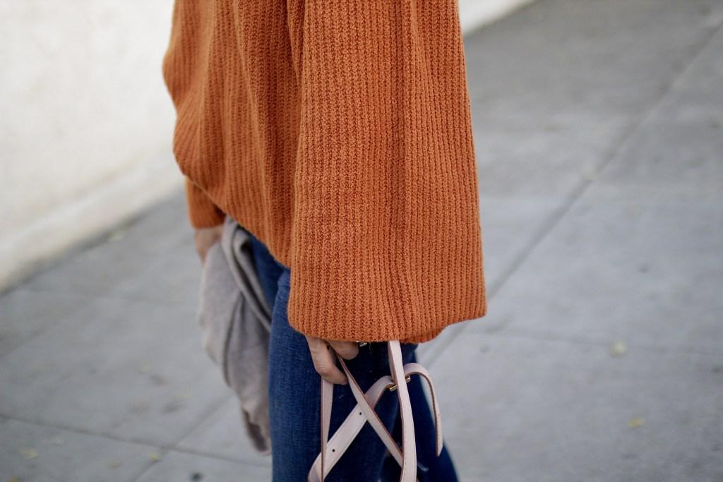bell sleeved sweater, itsy bitsy indulgences