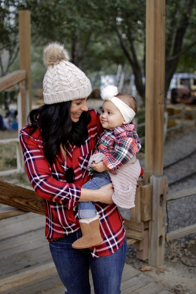 winter wear mom and daughter, itsy bitsy indulgences
