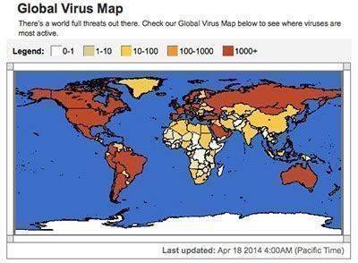 global-virus-map-mcafee-itusers