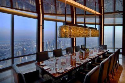 Atmosphere Restaurant – Burj Khalifa, Dubai – by Ivana Radovanovic Al-Rousan