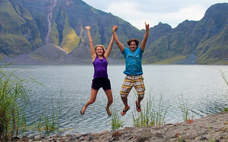 Semi-Failed Jump Shot - Mt Pinatubo Tour :: I've Been Bit! A Travel Blog