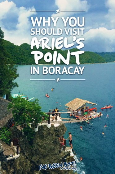 IveBeenBit.ca :: Why You Should Visit Ariel's Point in Boracay | Southeast Asia, Asia, The Philippines, Boracay, Ariel's Point, Cliff Diving, Adventure, Travel, Adventure Travel, Wanderlust | #SoutheastAsia #Asia #ThePhilippines #Boracay #ArielsPoint #CliffDiving #Adventure #Travel #Adventure #Travel #Wanderlust |