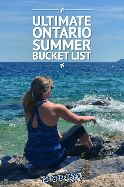 I've Been Bit! A Travel Blog :: Ultimate Ontario Summer Bucket List | Canada, Travel, Hiking, Ziplining, Spa Day, Relax, Cruise, Music Festivals, Niagara White Water Rapids, Scandinave Spa, Kayaking |