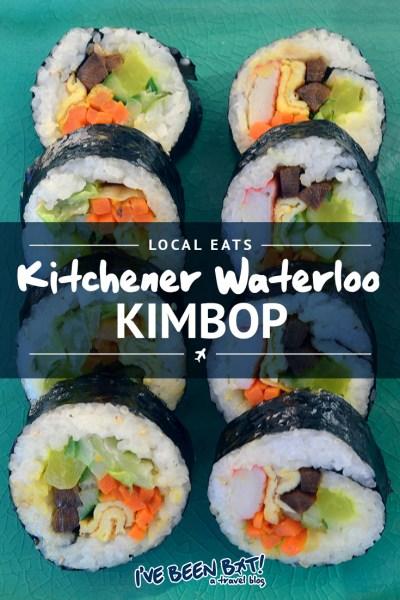 I've Been Bit! A Travel Blog :: Local Eats [KW] Kimbop | Ontario, Canada, Kitchener, Waterloo, Food, Foodie, Korean, Kimbap, Travel, Support Local |